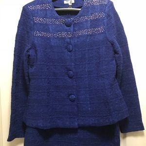 Other - 2pc knit suit